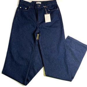 Zara Woman The Heritage Straight Sunset Blue Jeans